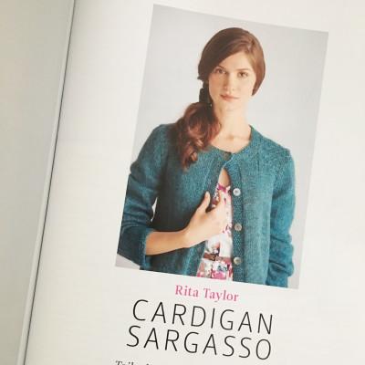 Cardigan Sargasso in der aktuellen Ausgabe von Knitter